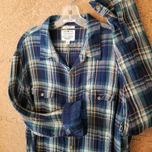 Lucky Brand Flannel Button Down